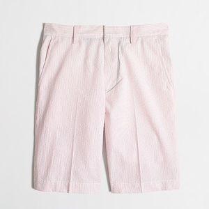 J. Crew Rivington Seersucker Shorts